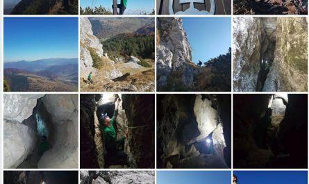 Prieskum jaskýň na Čiernom kameni – stolová hora Veľkej Fatry