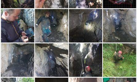 , Prieskum jaskýň na Salatíne v Nízkych Tatrách