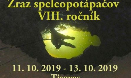 Zraz speleopotapacov v Tisovci 11.10 – 13.10.2019