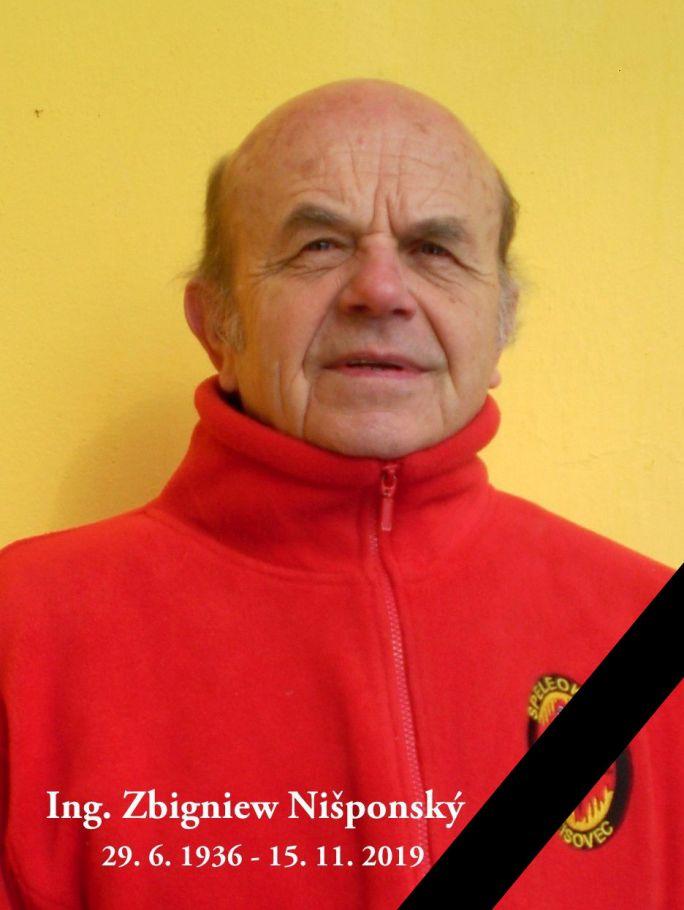 , ✞ Zbigniew Nišponský 1936 – 2019