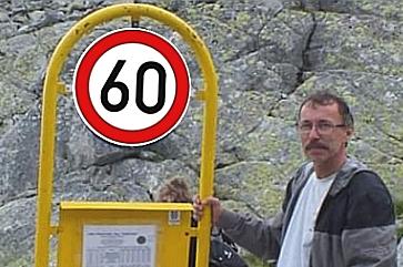 Fredy Greš má 60 rokov