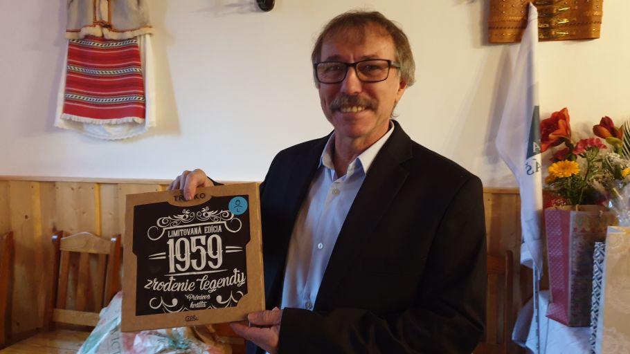, Fredy Greš má 60 rokov