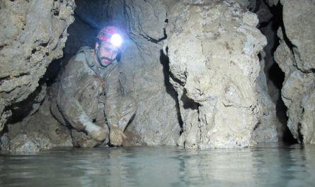 , Objav podzemného jazera v Liskovskej jaskyni
