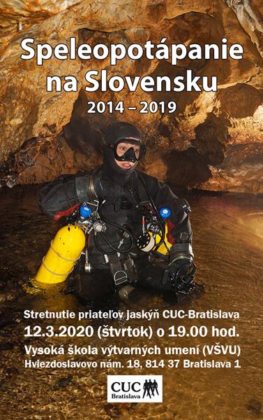 , Preložené na iný dátum! Stretnutie priateľov jaskýň CUC-Bratislava sa 12.3.2020 neuskutoční!