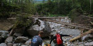 , Javorinka riecisko, Laguna a ostane veci