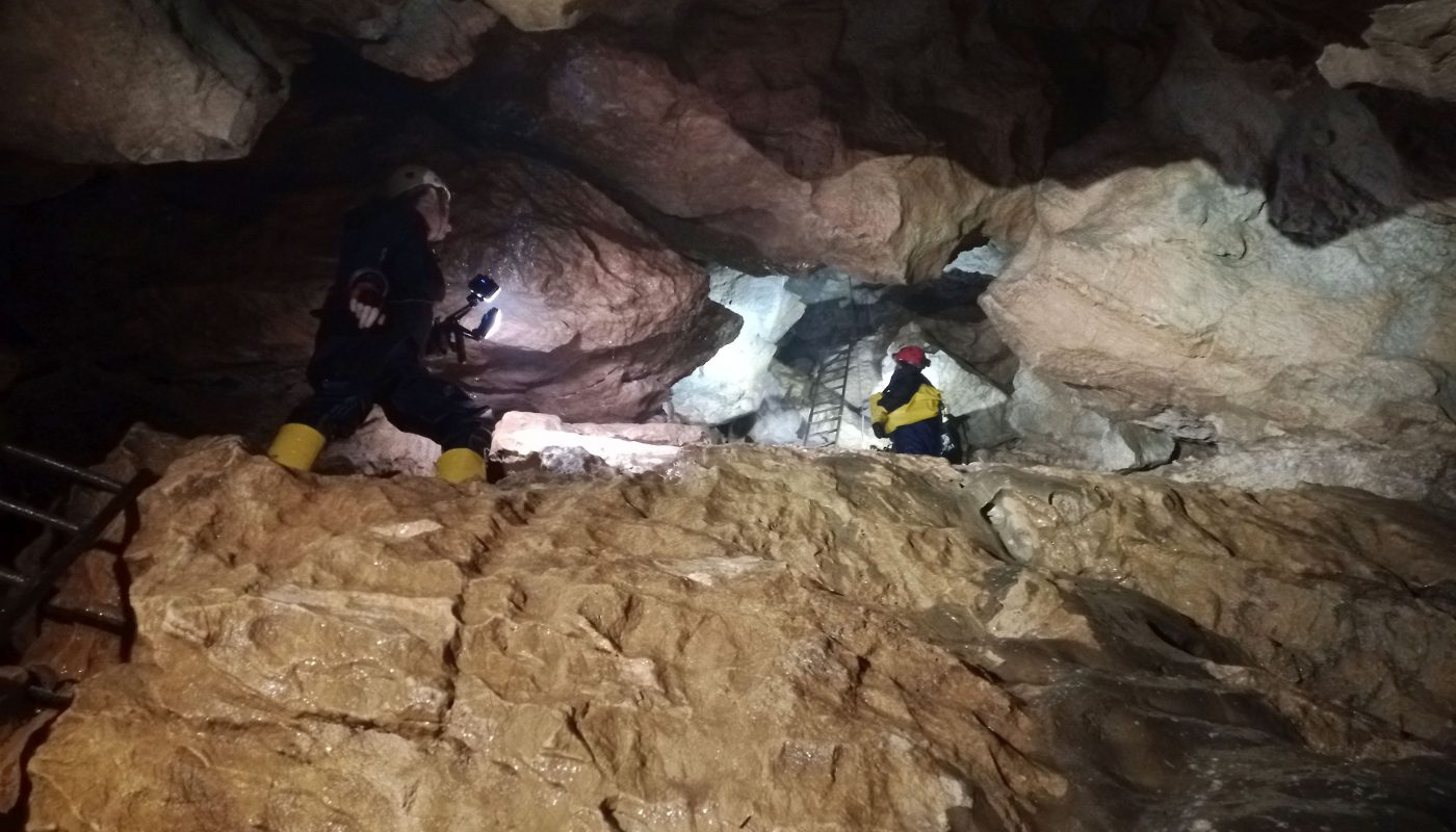 , Jaskyne Javorinka a Mokra diera oktober 2020