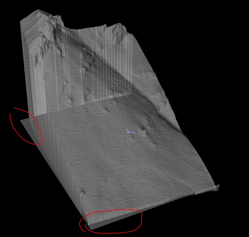 , Therion: povrch DMR5 z portálu ZBGIS