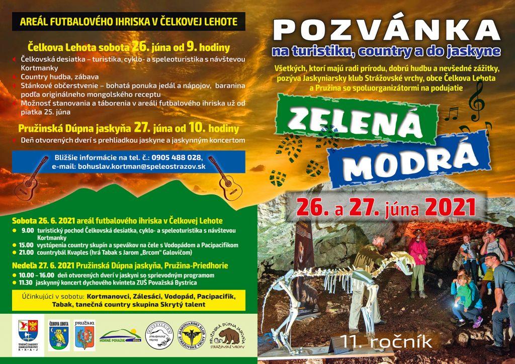 , Zelená Modrá 11. ročník