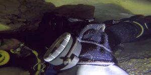 , Môj druhy ponor v Mokrej diere s trápením a prekvapením.